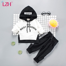 Children Clothing 2020 Autumn Winter Toddler Boys Clothes Outfit Kids Clothes Costume Suit For Boys Clothing Sets 1 2 3 4 Year cheap Casual CN(Origin) Hooded Pullover Polyester Cotton Unisex Full Regular Fits true to size take your normal size Coat Patchwork