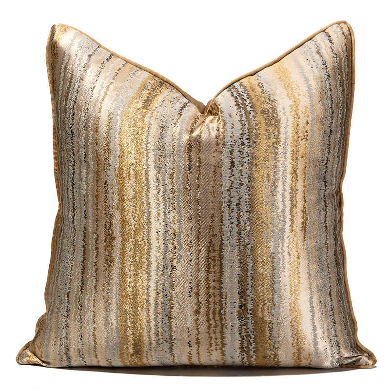 gold cushion cover luxury home decor
