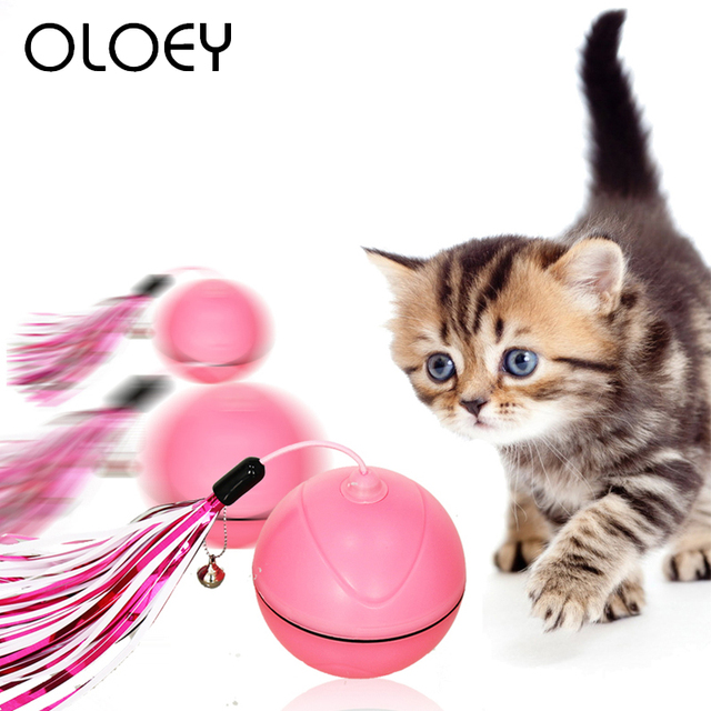 Rechargeable Rolling Ball for Cats