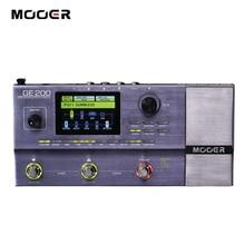 MOOER GE200 Amp Modellierung Multi effekte Prozessor Digital Gitarre Effekt Pedal 55 Verstärker Modelle 70 Effekte 52 Zweite Looper