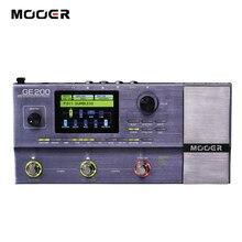 Процессор MOOER GE200 Amp для моделирования, с множеством эффектов, 55 моделей усилителя, 70 эффектов, 52 секунды