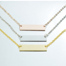 5Pcs/lot DIY Metal Pendant Base Tray for Engraved Diy Gold / Rosegold Silver Chain Necklace Making Jewelry Findings Supplies