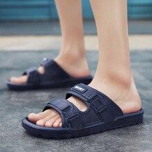 цена на 2020 Men Flip Flops Beach Shoes Sandals Summer Style Men Slippers Sandals Flats Shoes Mens Sandals Summer shoes sandalias mujer