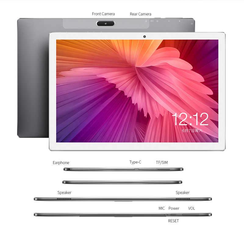 تابلت فابلت 4G بشاشة 10.1 بوصة بنظام أندرويد 8.0 Teclast M30 4GB RAM 128GB ROM 2560x1600 تابلت MT6797 X27 ديكا كور 7500mAh نظام تحديد المواقع