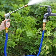 Hose-Pipe Watering-Hose Expandable Spray High-Pressure Cleaning Magic Home Garden Flexible