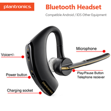 Original Plantronics Voyager Legend Wireless Bluetooth Headsets Fashion Business Earphone Intelligent Voice Control for Xiaomi