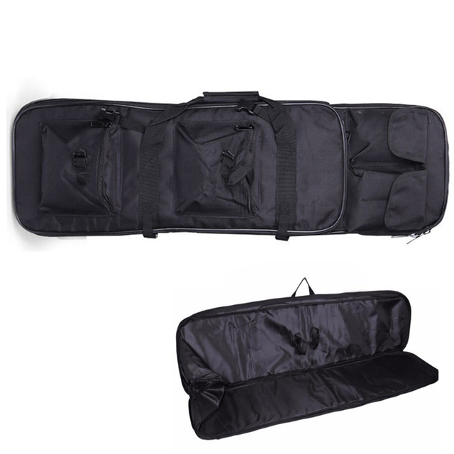 94 Cm Tactical Gun Carry Schouder Rugzak Jacht Airsoft Paintball Rifle Case Nylon Zware Sport Bag