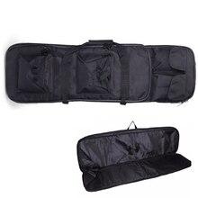 94cm 전술 총 캐리 숄더 배낭 사냥 Airsoft 페인트 볼 소총 케이스 나일론 헤비 듀티 스포츠 가방