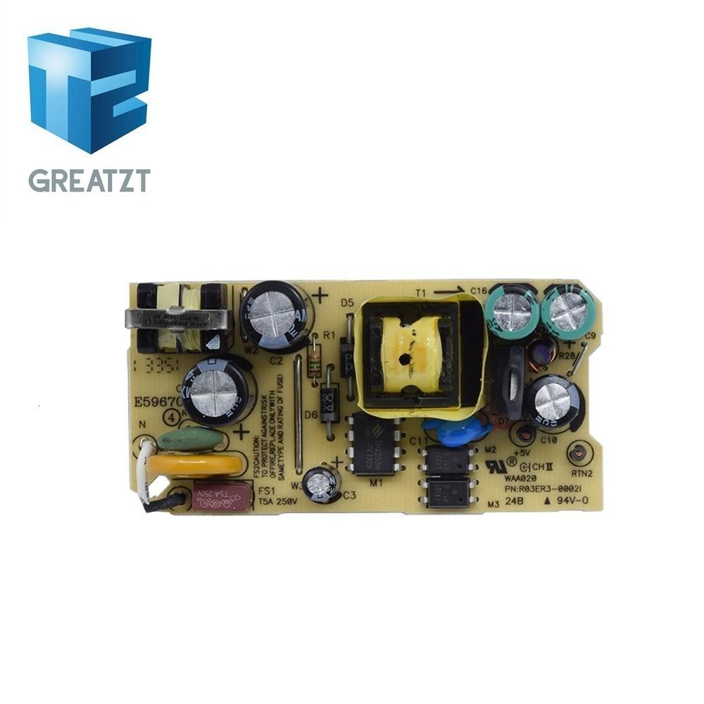 AC-DC 2A 5V Switching Power Supply Board 2000MA Circuit Board for Replace Repair