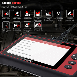 Image 5 - LAUNCH  CRP909 OBD2 Car Diagnostic Tool Wifi Full Systems Automotive Scanner ABS SAS DPF EPB   Oil Reset OBD 2 Scanner Launch