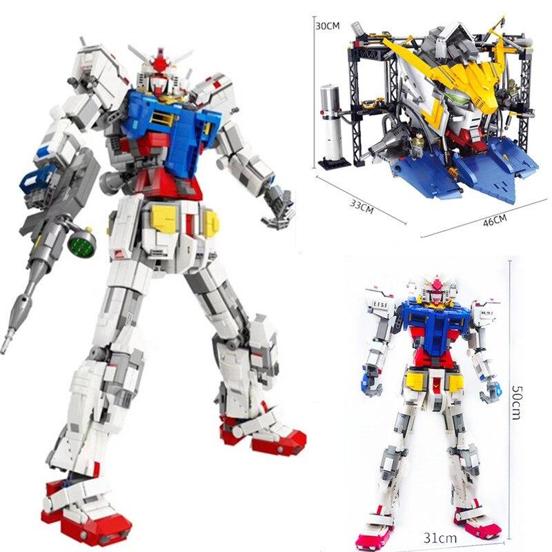 3500 шт., супер робот войны, меха, классика, gundam, 18K RX78 2, модель, строительные блоки, опорная пластина с кронштейном, игрушки для детей, Рождество