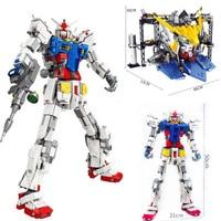 3500Pcs Super robot war mecha Classic gundam 18K RX78 2 model building blocks Base plate with bracket toys for kids christmas