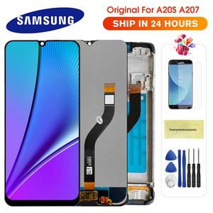 100% Original LCD For SAMSUNG Galaxy A20s A207 A2070 SM-A207F LCD Display Screen Digitizer Assembly Repacement Parts For A20S