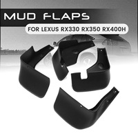 Front Rear Car Mud Flaps For Lexus RX330 RX350 RX400H 2004 2009 Mudflaps Mudguards Splash Guard for Fender Accessories