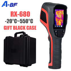 A-BF RX-680 Industrial Thermal Imaging Camera for Repair 256*192 Pixel Infrared Thermal Imager House Heat Detection -20°C~550°C