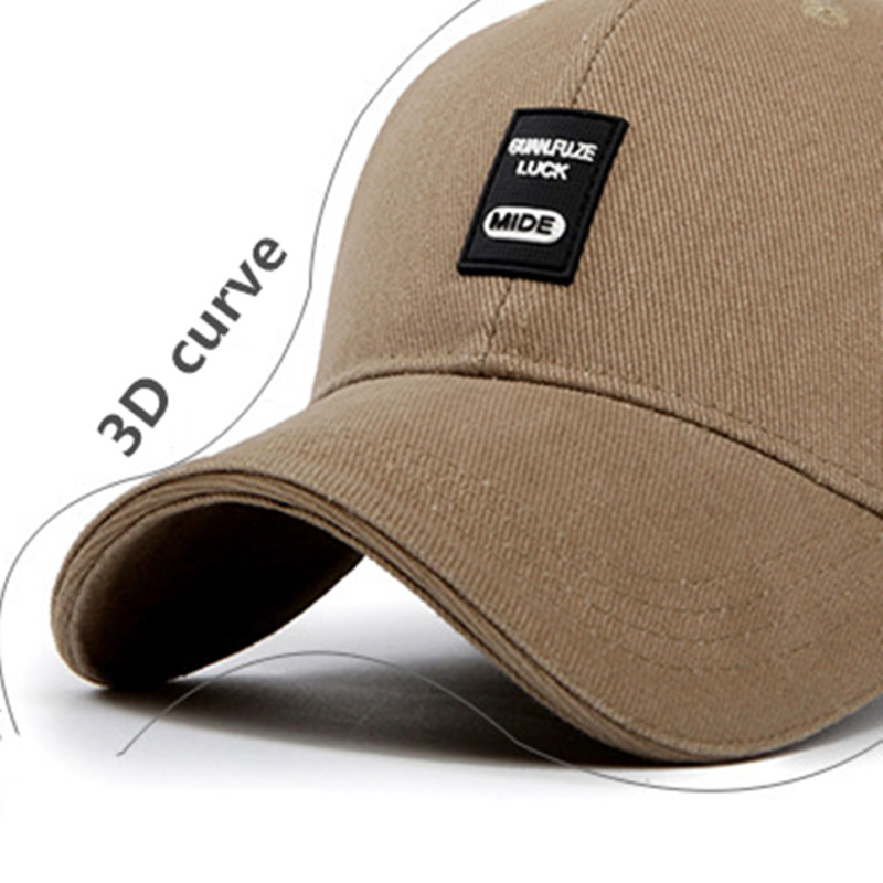 SILOQIN Man 39 s Baseball Cap Summer Autumn Outdoor Leisure Cotton Baseball Cap Fashion Adjustable Size Snapback Tourism Motion Hat in Men 39 s Baseball Caps from Apparel Accessories
