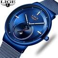 Мужские Ультра тонкие часы 2019 мужские часы люксовый бренд подарок мужские часы Бизнес Кварцевые наручные часы для мужчин Relogio Masculino