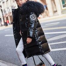 Down-Jacket Clothing Overcoat Snowsuit Kids Parka Russia Waterproof Winter Children's