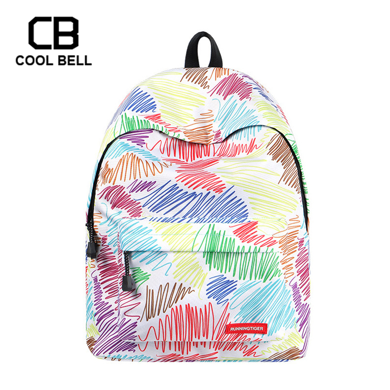 Multicolor Striped School Bags For Girls Cute Travel Backpack Sports Casual Grils Schoolbag Children Gift