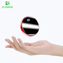 FLOVEME Mirror Power Bank 20000mAh For Xiaomi mi Phone Charger USB Powerbank 20000mAh Carregador Portatil Bateria Externa Movil