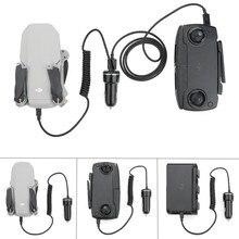 Mavic drone chargeur de voiture batterie et télécommande Intelligent sûr charge Portable pour dji mavic mini drone accessoires