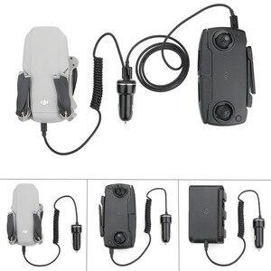 Image 1 - mavic drone car charger Battery & remote control Intelligent safe charging Portable for dji mavic mini drone Accessories