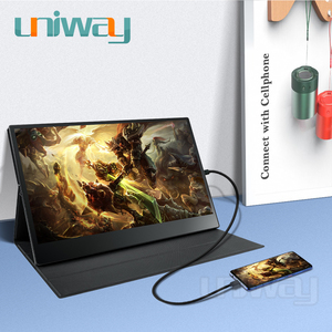 Image 3 - Uniway 15.6 portable monitor 1080 IPS screen USB Type C HDMI display for PC laptop Ps4 Switch Xbox gaming monitor