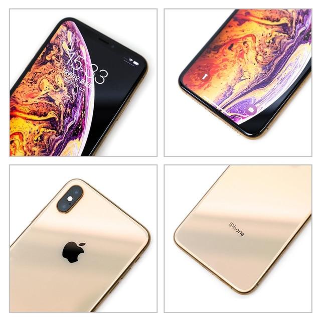 100% Original Apple iPhone XS Max Used 99% New Hexa Core Cellphone 6.5'' 4GB RAM 64/256GB ROM A13 Bionic Unlocked Smartphone 4
