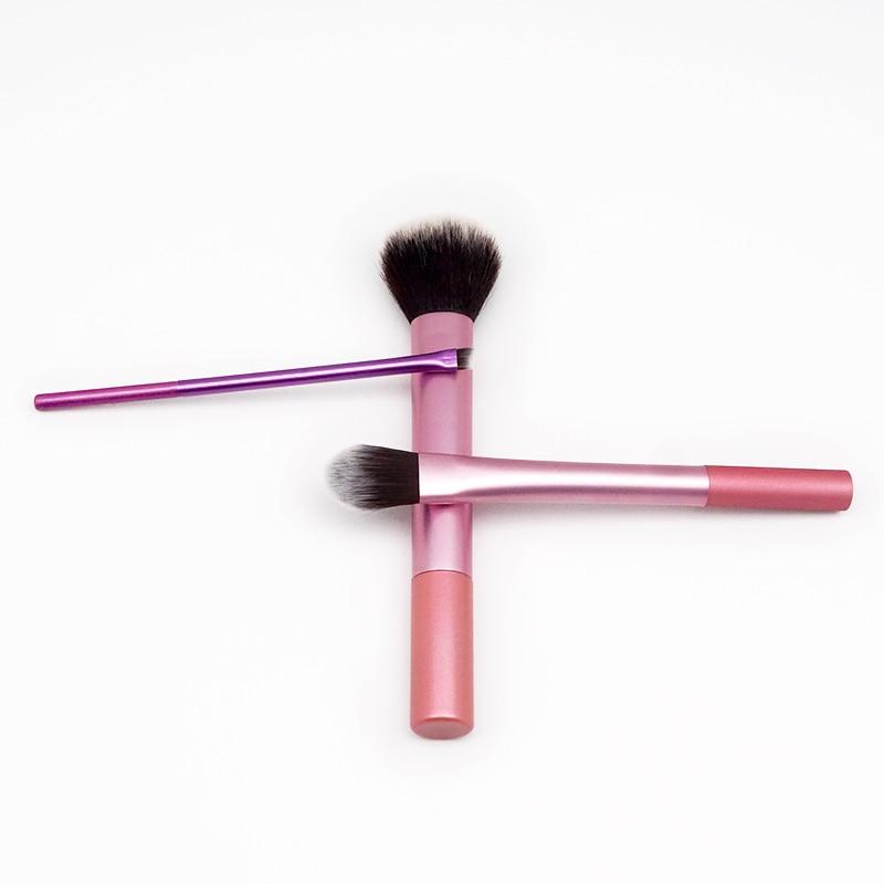 3 pcs conjunto de pinceis de maquiagem conjunto de ferramentas cosmeticos em po sombra de olho