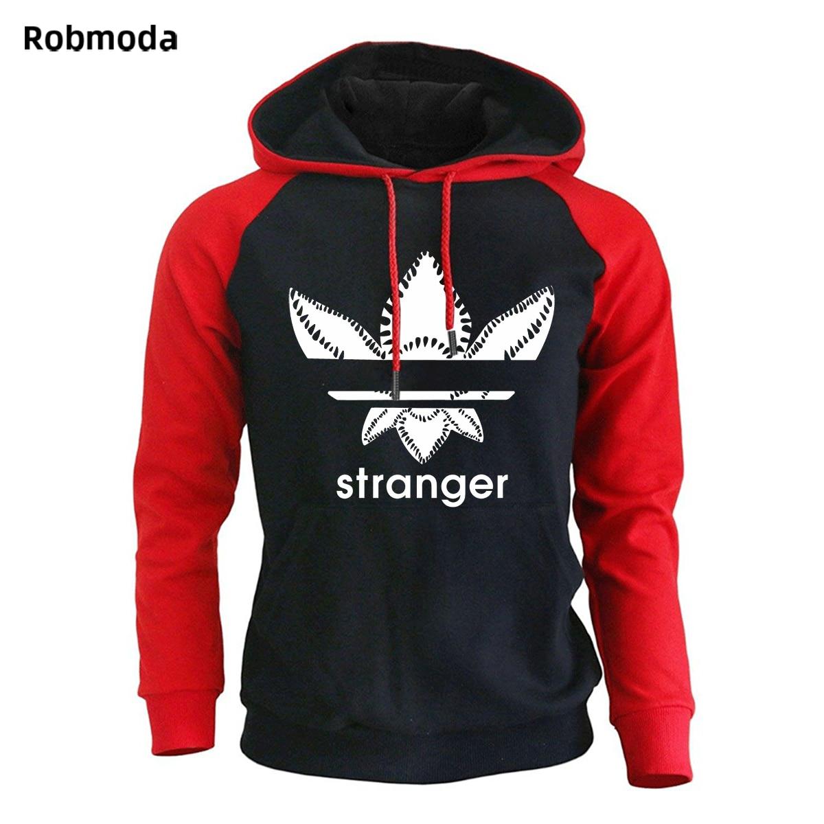 2018 Brand New Fashion Stranger Things Cap Clothing Hooded Sweatshirt hoodies Men Women Hip Hop Hoodies Plus Size Streetwear in Hoodies amp Sweatshirts from Men 39 s Clothing