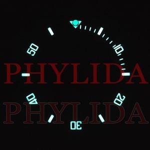 Image 2 - ¡Oferta! De 38mm anillo negro, azul, verde, superluminoso, de cerámica, con bisel para reloj, compatible con Sub buzos SKX007/009, reloj con total luminosidad