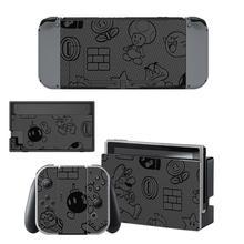 מסך חדש מגן מדבקת עור עבור Nintendo מתג NS קונסולת Dock מטען Stand מחזיק שמחה קון בקר ויניל