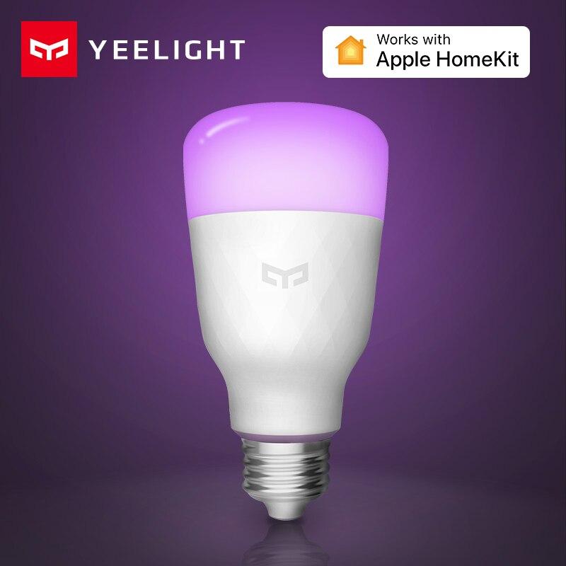 Xiaomi Aqara Yeelight Smart LED Bulb Colorful Lemon Xiomi Smart Lamp For Mi Home App White/RGB Option With Apple HomeKit
