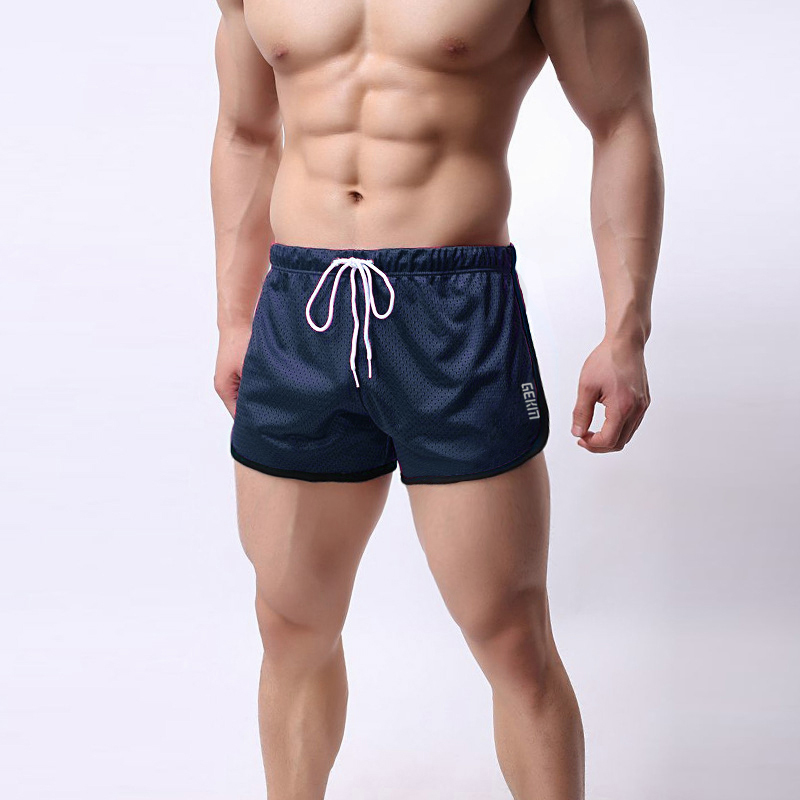 Muscle Boy Spring And Summer Stretch Sports Fitness Shorts Sports Leisure Breathable Fast Running Training Shorts