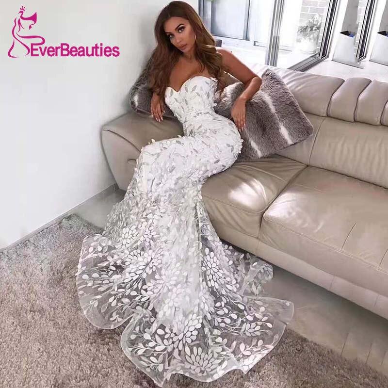 Mermaid Lace Wedding Dress 2019 Sweetheart Wedding Gowns Beach Bridal Gowns Vestido De Noiva