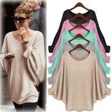 цена 2019 Autumn Winter Cashmere cotton Blended Knitted Women Sweaters And Pullovers Jersey jumper pull femme hiver