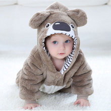 Bé Rompertoddler Bé Trai Gái Koala Trang Phục Kawaii Dễ Thương Ấm Onesie Trẻ Sơ Sinh Động Vật Jumpsuit Quần Áo Mùa Đông Kigurumis Pyjama