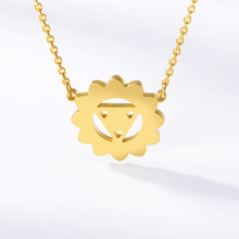2019 new necklace sun gold silver rose round stainless steel woman jewelry birthday gift couple