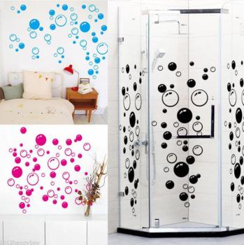 Bubble Bathroom Decor Stickers