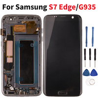 Quality Lcd For Samsung Galaxy S7 Edge LCD Display Touch Screen Digitizer Assembly For Samsung S7 Edge G935 G935F