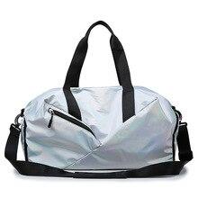 Fashion Women Oxford Travel Bag Large Capacity Shoulder Bag Independent Shoes Luggage Waterproof Handbag