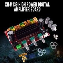 302B 2,1 канал высокой мощности цифровой усилитель мощности плата Tpa3116D2 мощность 2*80 Вт+ 100 Вт цифровой усилитель мощности