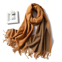 2019 New Womens Winter Scarf Fashion Warm Cashmere Scarves Ladies Shawls and Warps Pashmina Bandana Blanket Hijabs