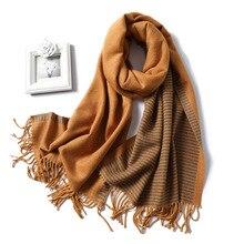 2019 nouvelle écharpe dhiver des femmes de mode chaud cachemire foulards dames châles et Warps Pashmina Bandana couverture Hijabs
