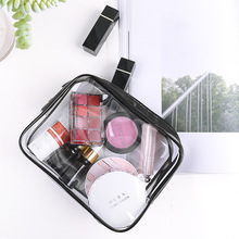 Multifunction Stereoscopic 1 Pc Transparent Cosmetic Bag PVC Travel Organizer Zipper Clear Waterproof Women Makeup