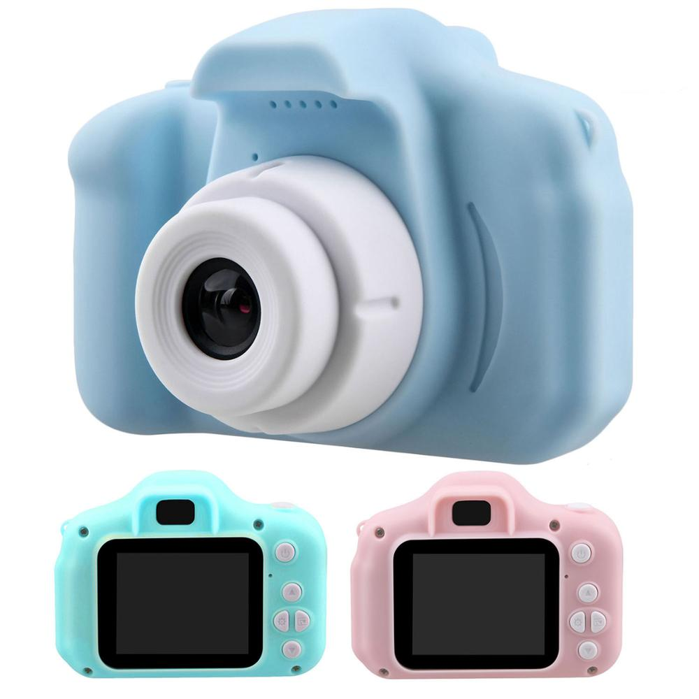Kids Mini Cute Electronic Digital Camera 2 Inch Display Screen Rechargeable Video Recorder Photography Camcorder Cameras Toy