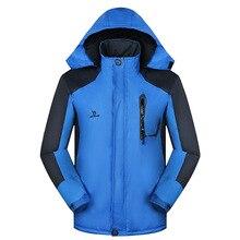 Стиль мужской открытый спортивный плащ куртка теплый удобный анти-проливание с капюшоном Топ