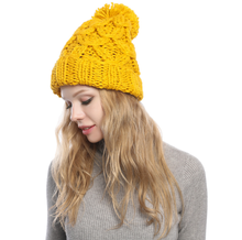 2019 Skullies Beanies Winter Hat For Women Warm Hat Knitting Warm Cap Warm Wool Hat Cap Leisure Fashion Thickening Winter Hats free shopping 2016 fashion wool winter hats for women winter cap thickening thermal knitted hat female caps