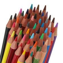 48/72/120/160 cores profissional óleo cor lápis definir estudantes artista pintura esboçar cor lápis conjunto escola arte suprimentos
