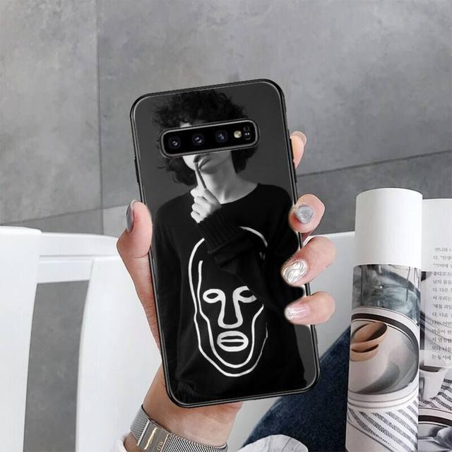 Finn Wolfhard Kanada schauspieler TPU schwarz Telefon Fall Abdeckung Hull Für Samsung Galaxy S5 S6 S7 S8 S9 S10 S10e s20 rand plus lite